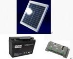 ソーラー独立電源セット