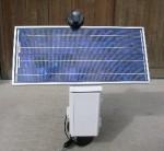 据え置き型一軸太陽光追尾装置